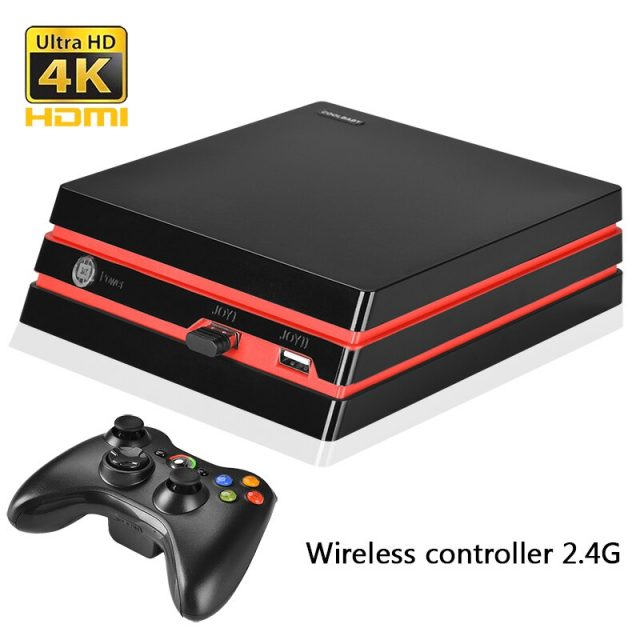 Video Game Console 64 Bit HD/AV output Support 4K  600 games