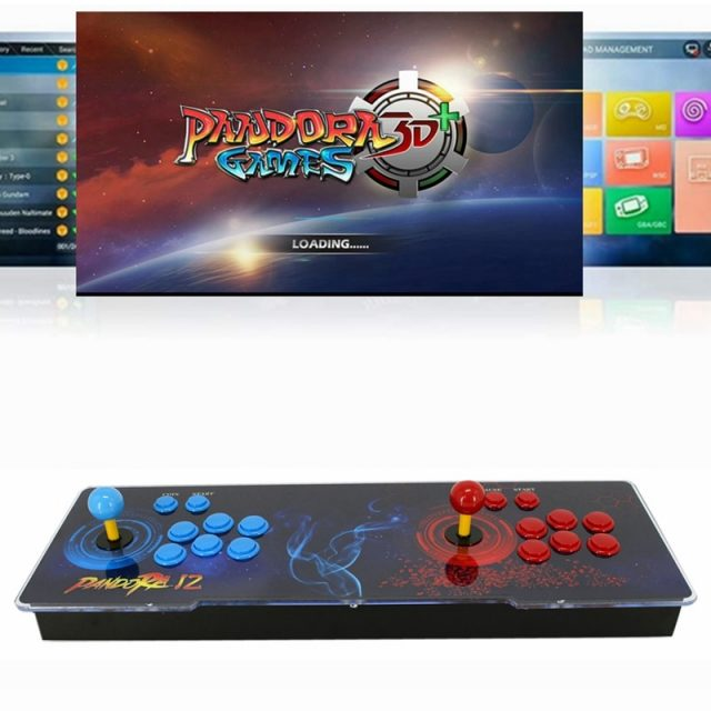 3D Pandora Box WIFI 8,000 games Multiplayer Retro gaming Support 4 Players