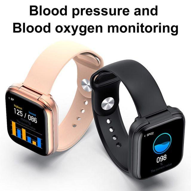Smart Watch Bluetooth Wireless Earphones Two in one 1.54inch Call Music Sport