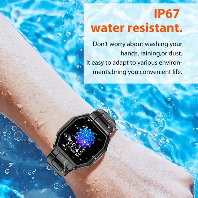 Call Smart Watch Men Full Touch Music Control Sports Fitness Tracker