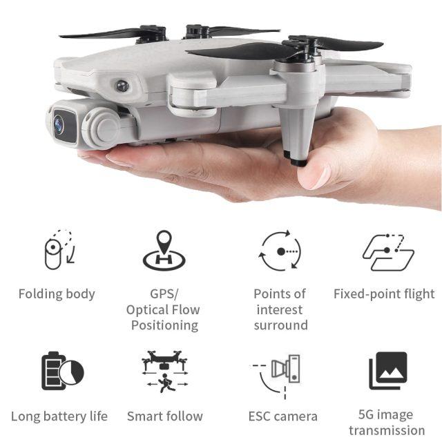 GPS PRO 4K Drone FPV 5G 1.2KM 28min Flight Under 250g
