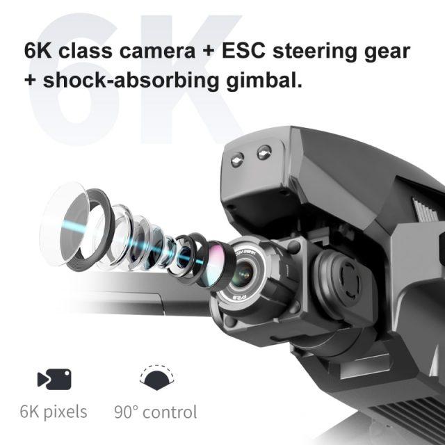 3Km Professional Drones 6K 4K GPS Long Distance 5G FPV 28mins Self Stabilization