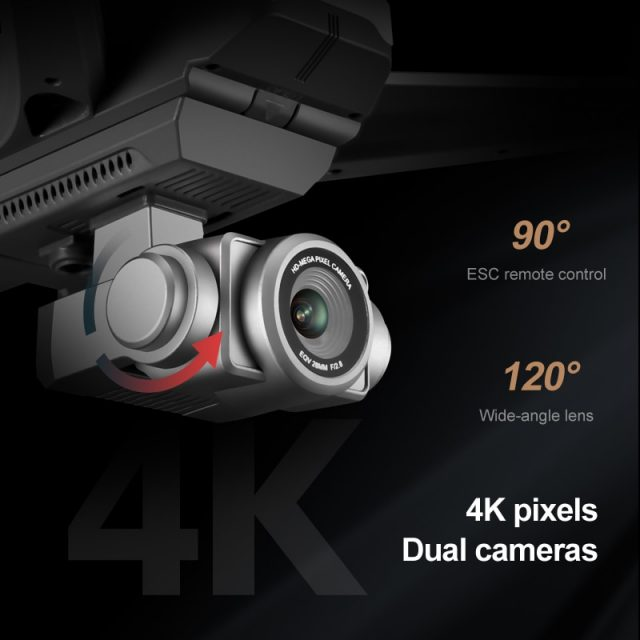 F11 PRO GPS Drone 4K Dual HD Camera Professional Aerial Photography Brushless Motor Quadcopter RC Distance1200M