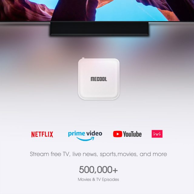 Mecool KM2 Google Certified Netflix 4K TV Box Android 10.0 Media Player Android 10 ATV BT 2T2R Dual Wifi Dolby Audio Prime Video